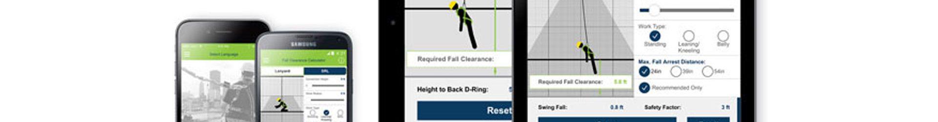 Aplicación Miller para cálculo de distancia de caída libre